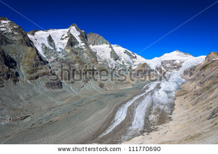 Pasterze Glacier Stock Photos, Royalty.