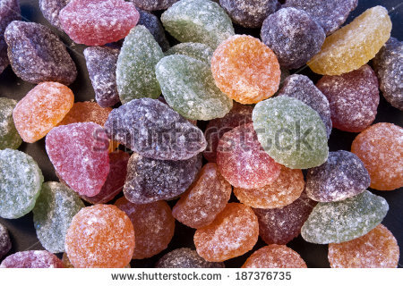 Fruit Pastilles Stock Photos, Royalty.