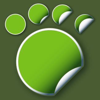 CLIPART STICKERS GREEN.