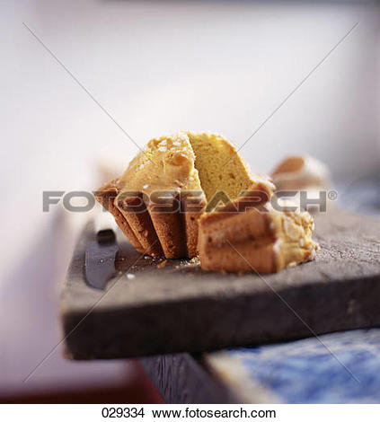 Stock Photo of Pastis cake from the Landes 029334.