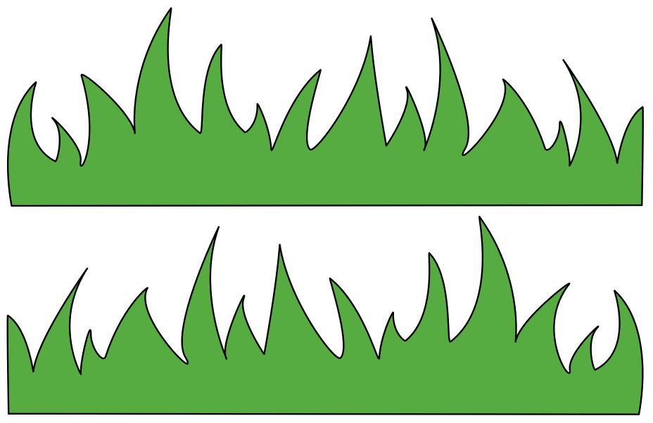 Grass Clipart Template.
