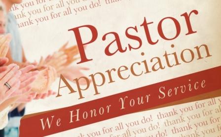 Pastor Anniversary Clipart.