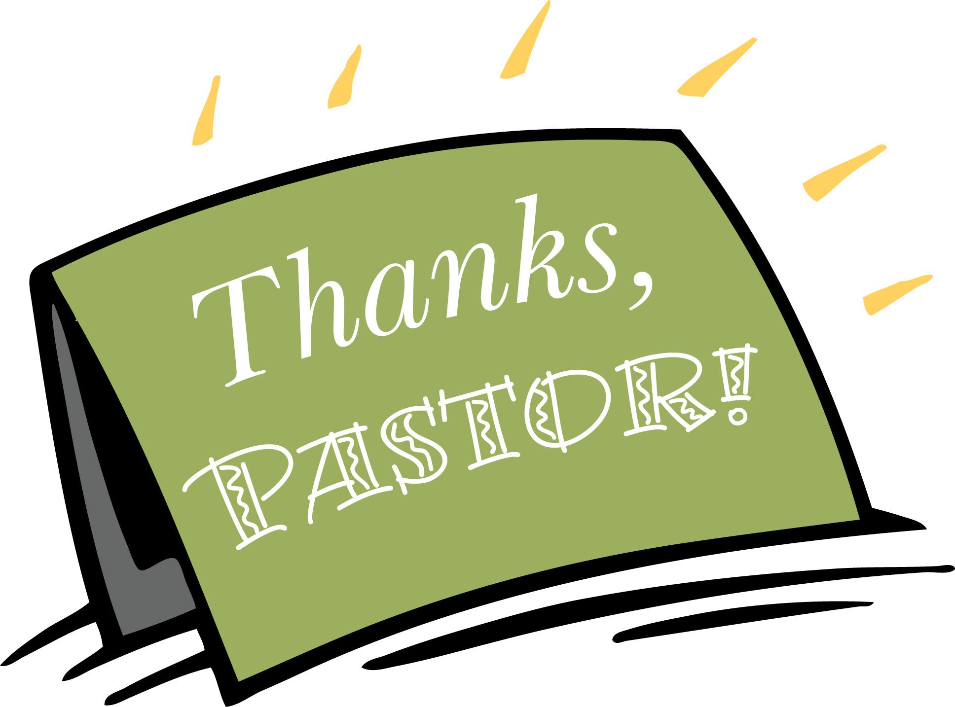 Pastor Appreciation Cliparts.