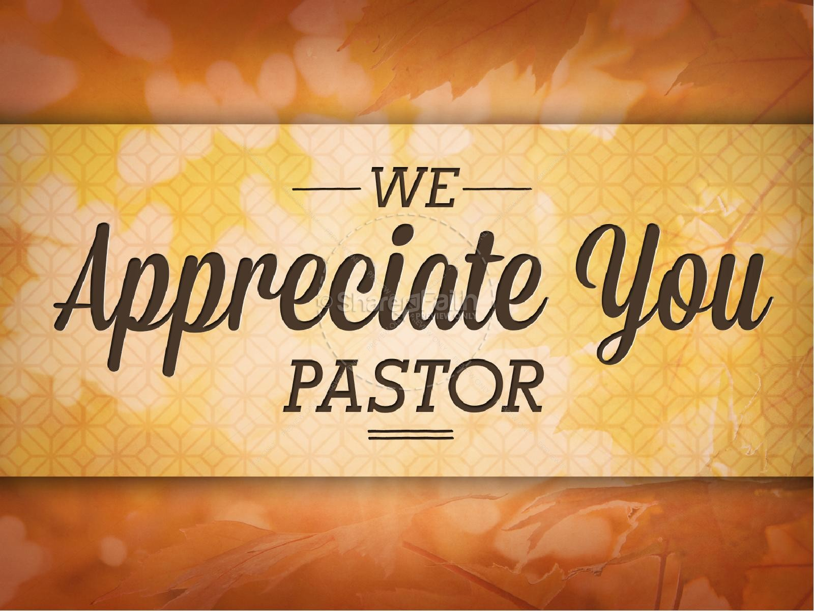 Pastor Appreciation Day Christian PowerPoint.