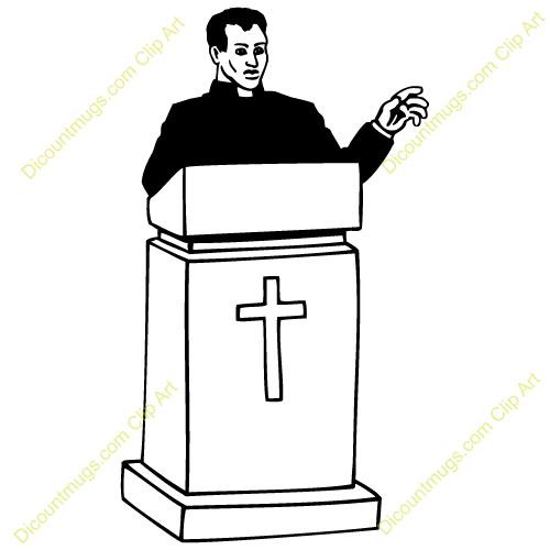 Pastor Clipart.
