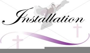 Pastor Installation Clipart.