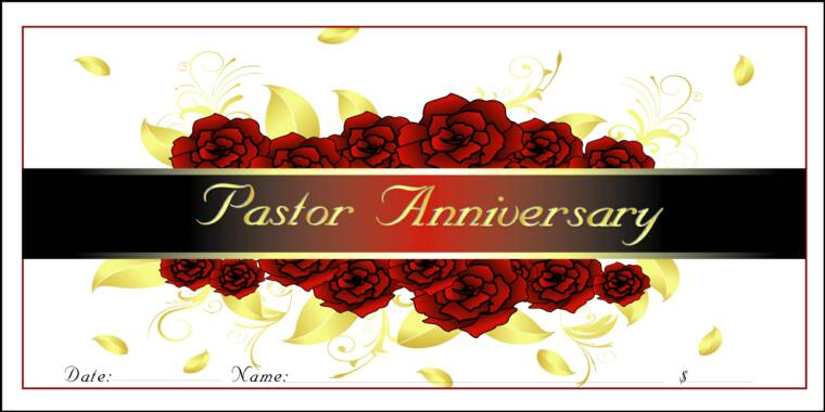 Pastor And Wife Anniversary Clipart.