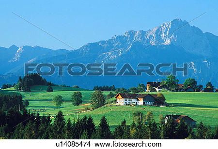 Stock Photo of Pastoral Scene u14085474.