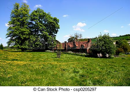 Picture of English rural scene.