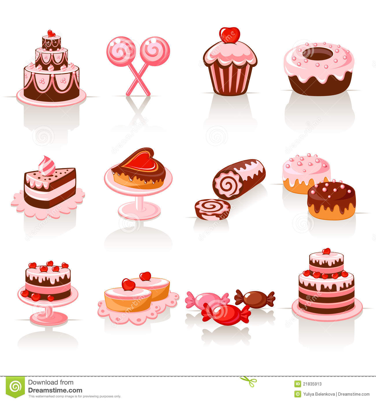 Related Keywords & Suggestions for Pastries Clipart.