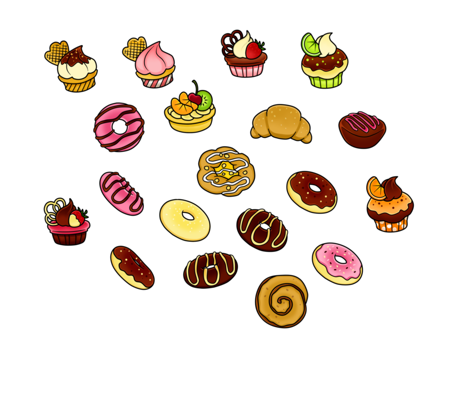 Pastry clipart free.