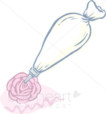 Pastry bag clipart.