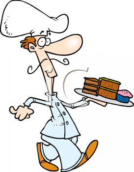 Pastry chef clipart free.