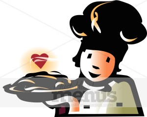 Sweet Pastry Chef Clipart.