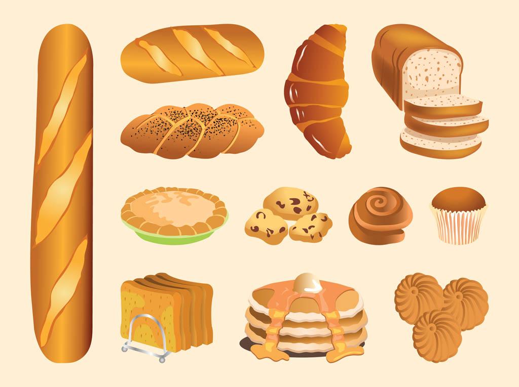 Pastry Vectors.