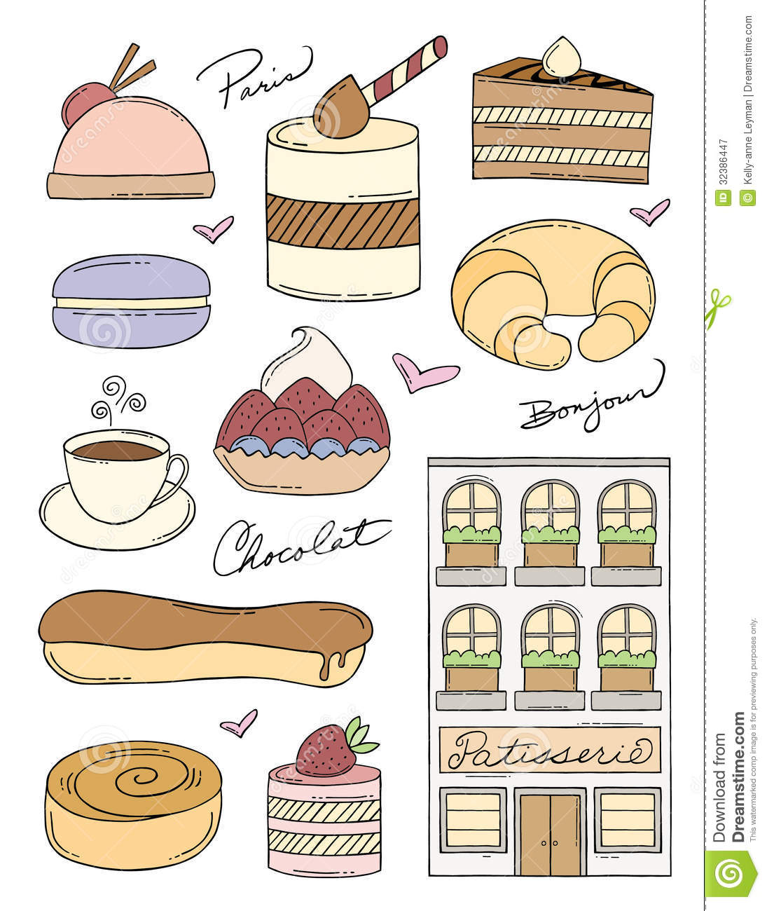French Pastry.