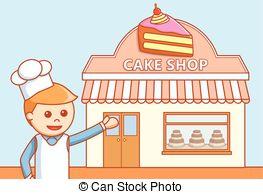 Cake shop Clip Art Vector Graphics. 6,787 Cake shop EPS clipart.