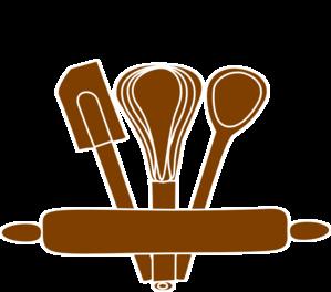 Bakery utensils clipart.
