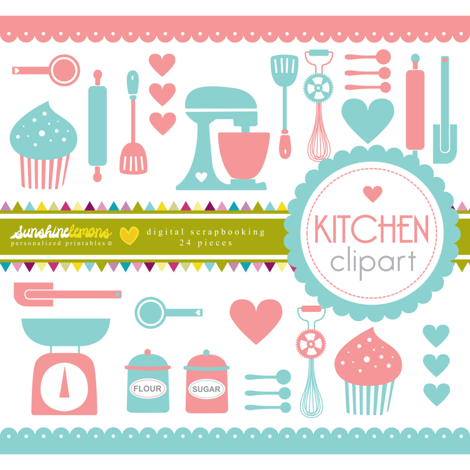 Pastry utensils clipart 20 free Cliparts | Download images ...
