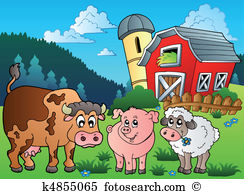 Pasturage Clipart Vector Graphics. 42 pasturage EPS clip art.