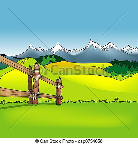 Pastureland Clipart and Stock Illustrations. 10 Pastureland vector.
