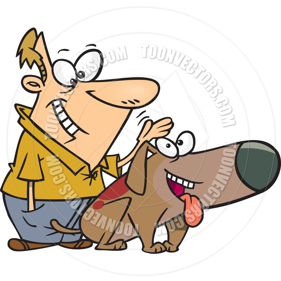 Pat The Dog Clipart.