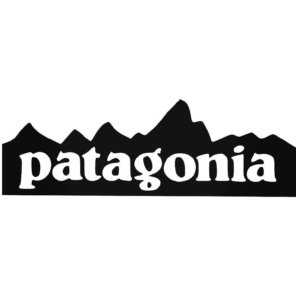 Patagonia Mountain Logo Vinyl Decal Sticker BallzBeatz . com.
