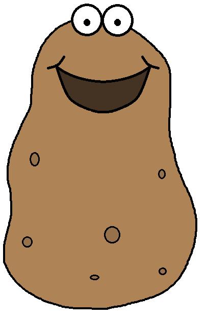 Potato Clipart.