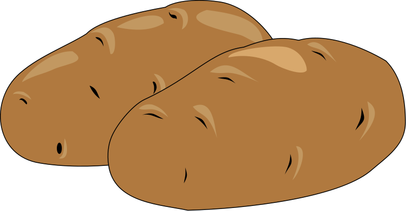 Potato Clipart.