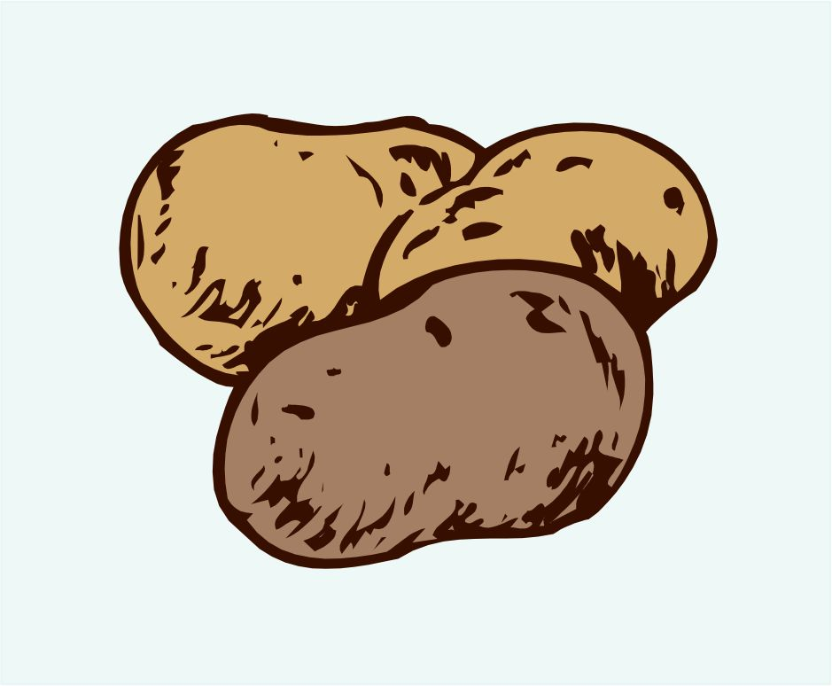 Potato city clip art potatoes.