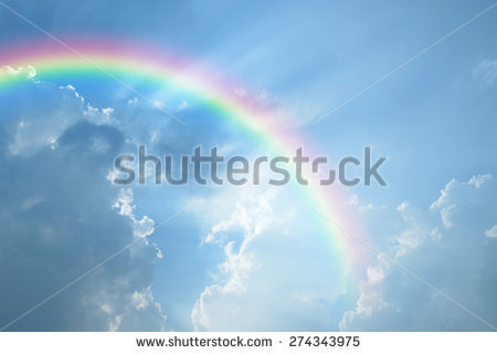 Rainbow Stock Images, Royalty.