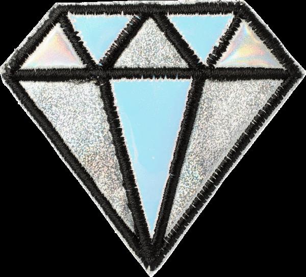 Puffy Diamond Patch.