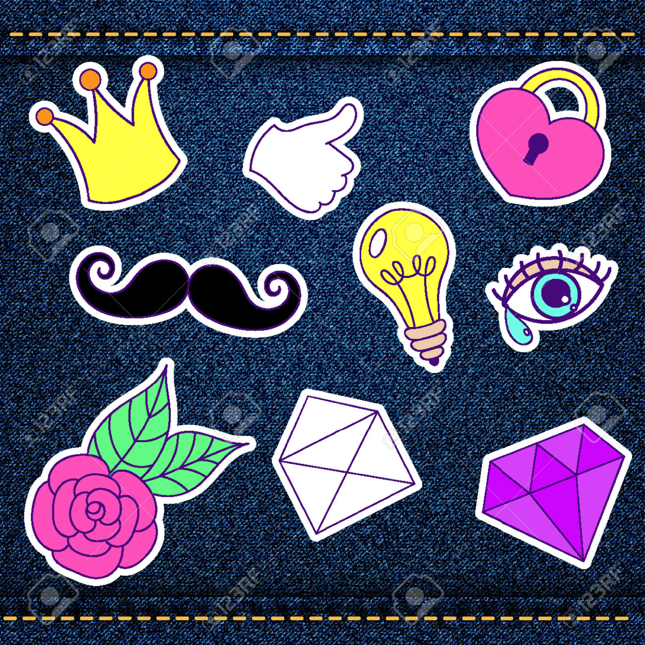 511 Patch Up Stock Vector Illustration And Royalty Free Patch Up.