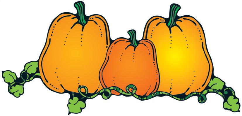 Pumpkin patches clipart.