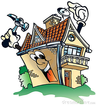 House Repairs Clipart.