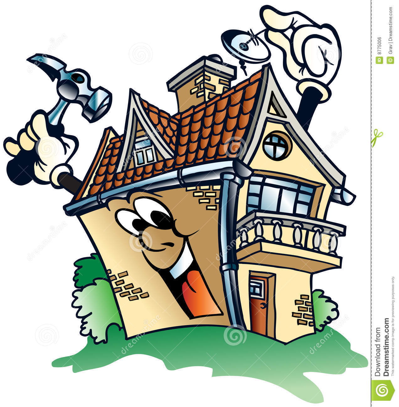 Home Repair Clipart House Repairs #JM5vQL.