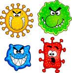 Pathogen Vector Clip Art.