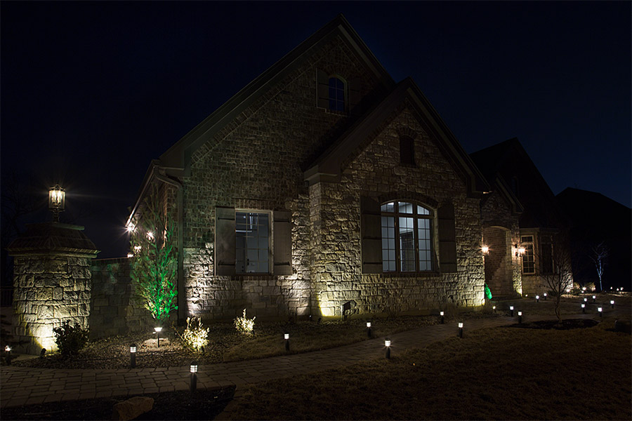 LED Landscape Path Lights.