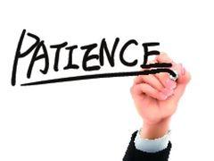 Patience Clip Art Images.