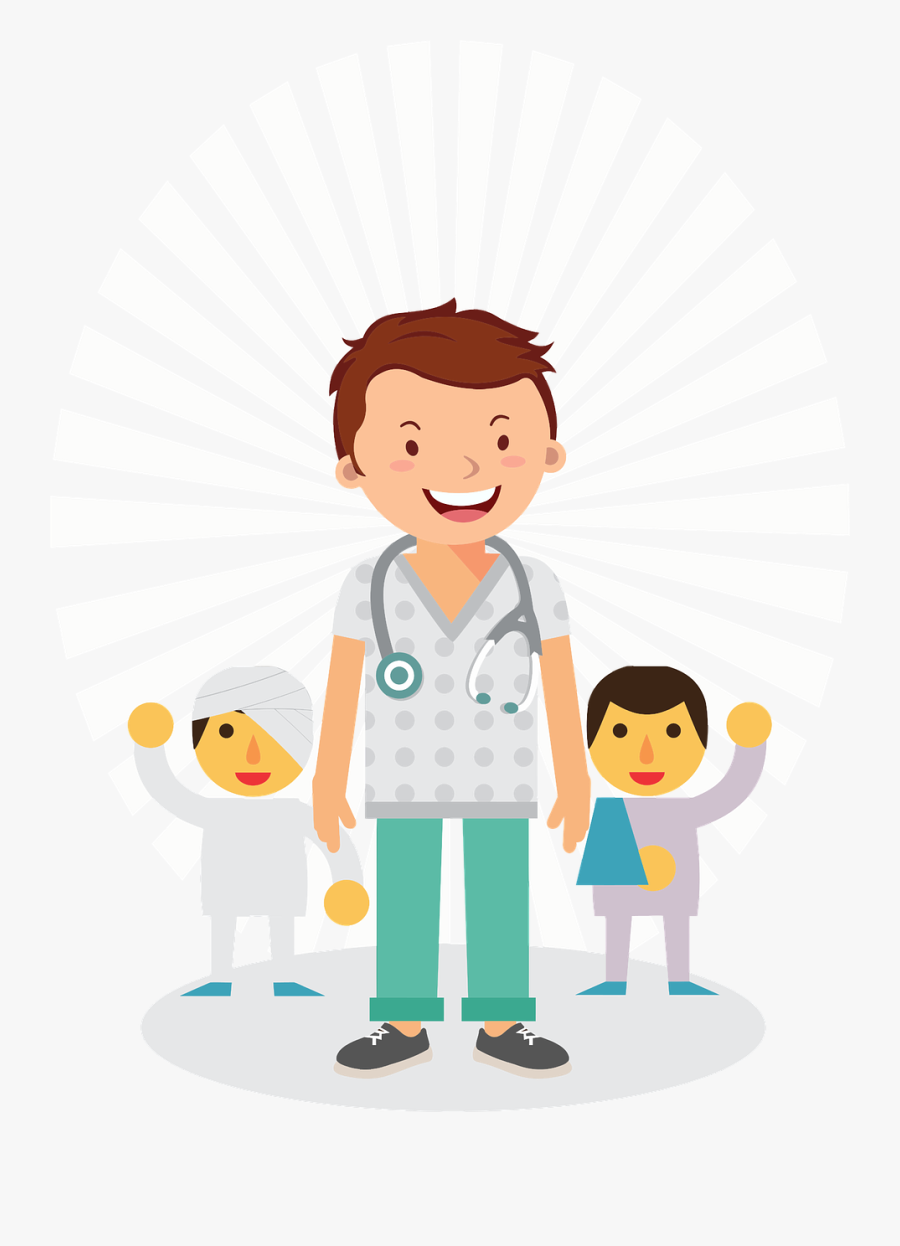 Image Royalty Free Stock Doctor Child Patient Clipart.