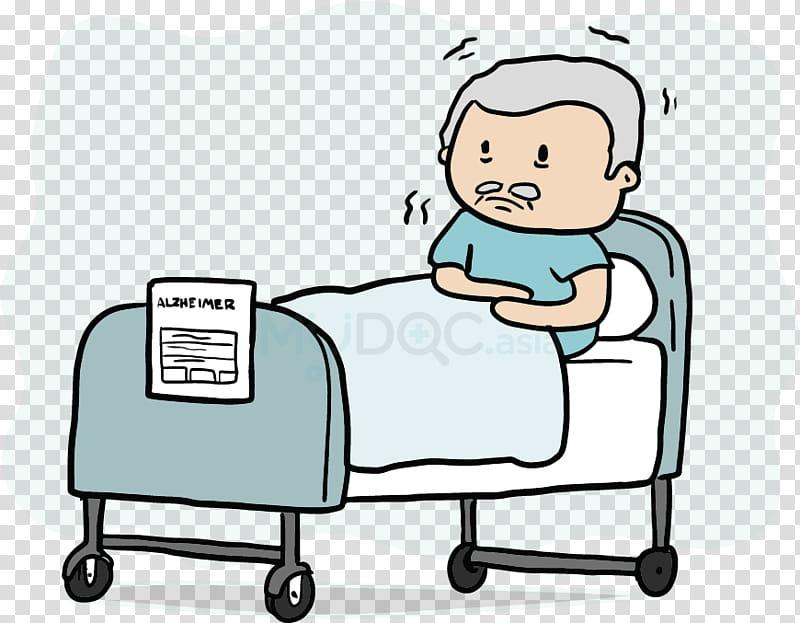Brain, Patient, Hospital Bed, Alzheimers Disease, Sundowning.
