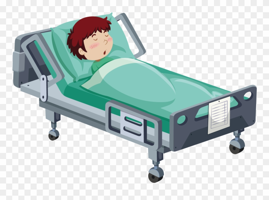 Hospital Clipart Hospital Bed.