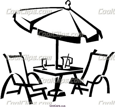 Patio Furniture Clipart.