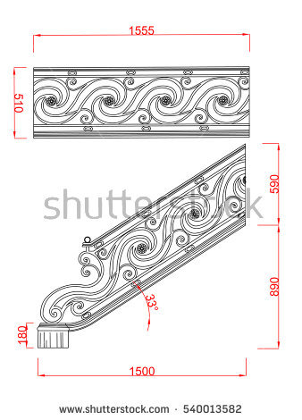 Stair Railing Stock Photos, Royalty.
