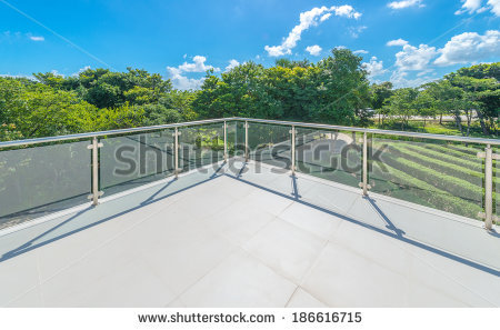 Deck Railing Stock Photos, Royalty.