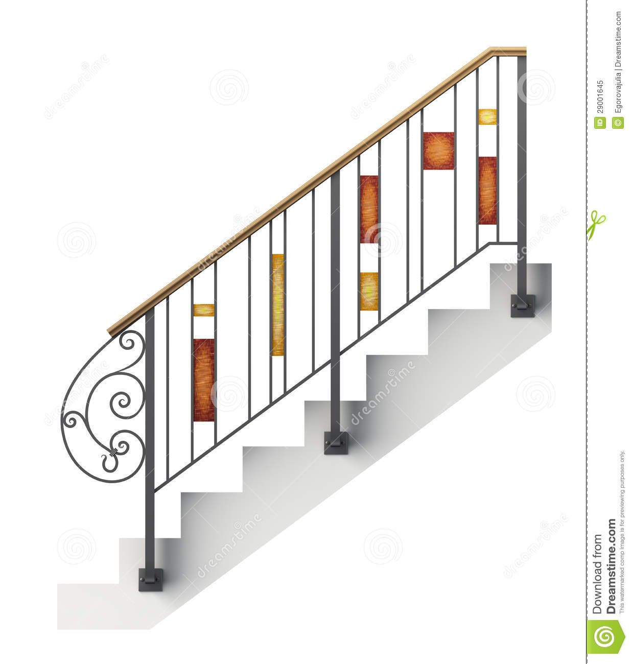 Wrought Iron Stair Railing. Superb Stair Railing Designs In.