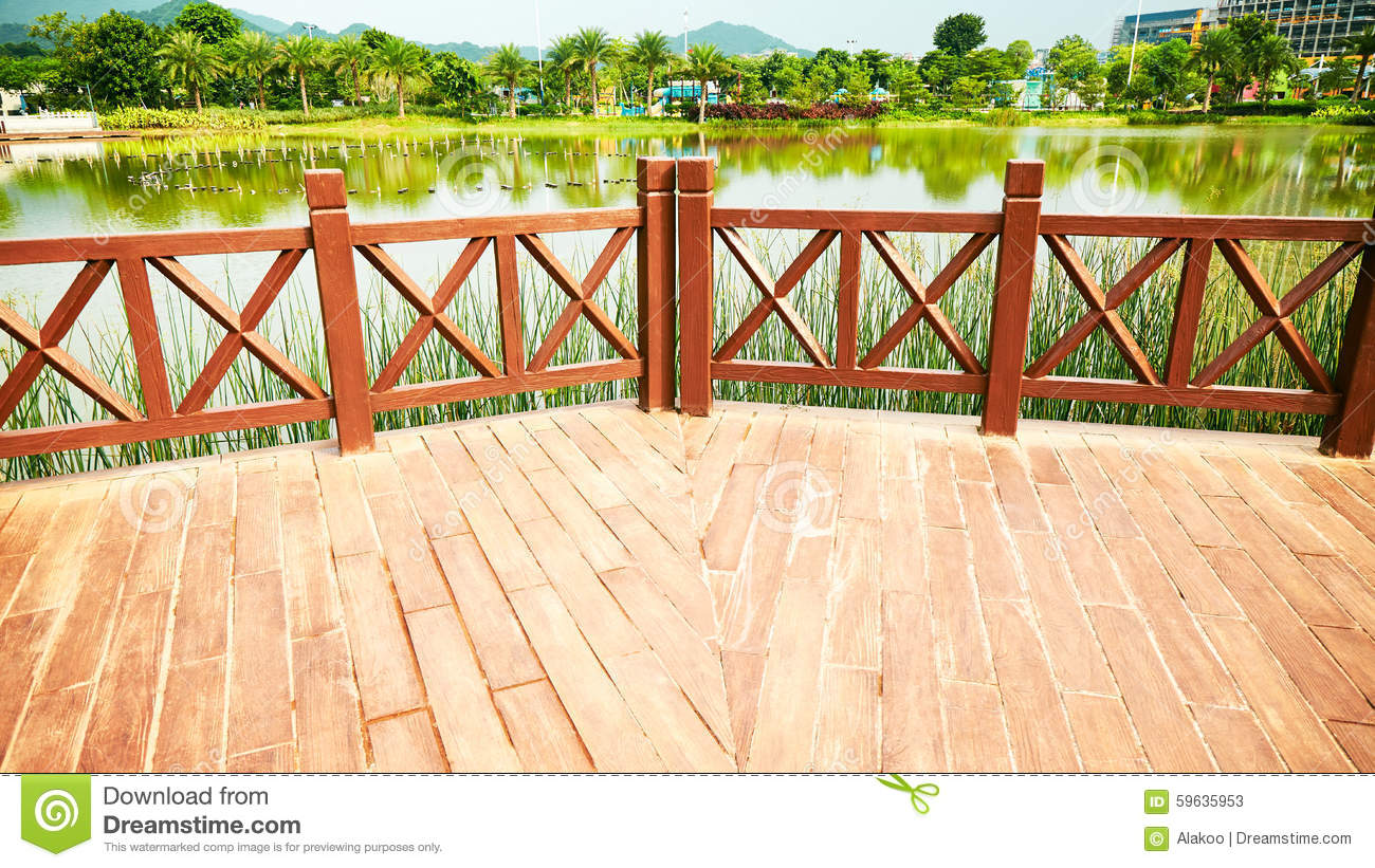 Wooden Deck Clipart.