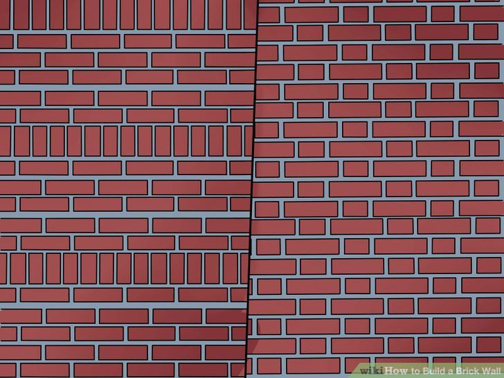 Building Brick Patio Wall.