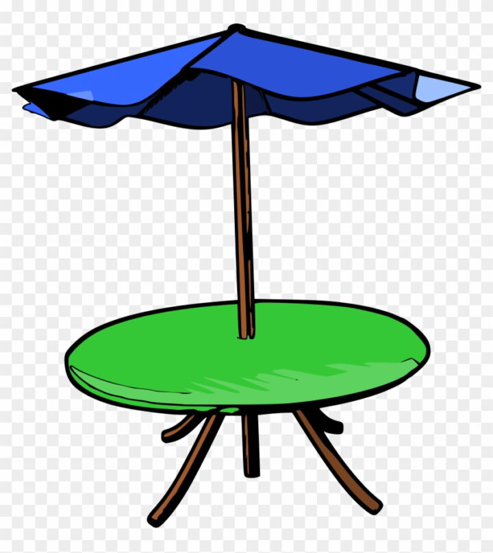 Umbrella Clipart Images Unblocked Patio Table Clipart Image.
