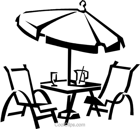 Patio Furniture Vektor Clipart Bild Vc0381 #206813.